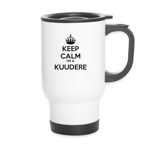 Kuudere keep calm - Travel Mug