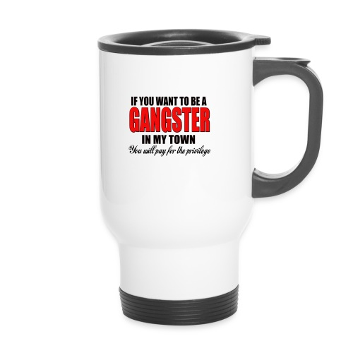 ville gangster - Mug thermos
