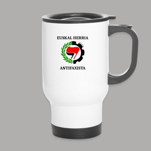EH antifaxista pour fond clair - Mug thermos