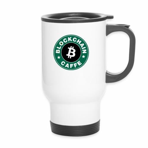 BlockChain Caffè Logo - Tazza termica