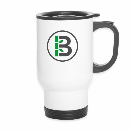 Biomboo Logo Circle Charcoal - Travel Mug