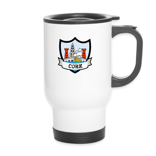 Cork - Eire Apparel - Travel Mug