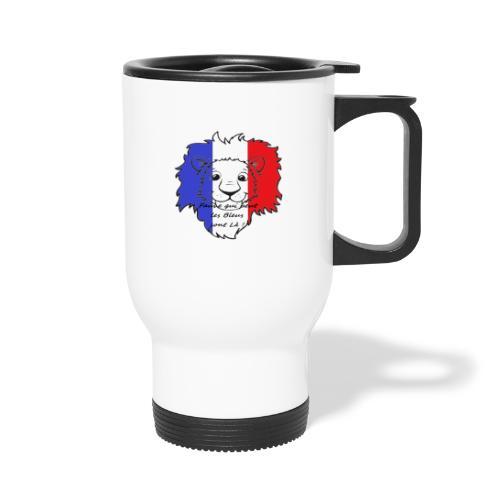 Lion supporter France - Mug thermos