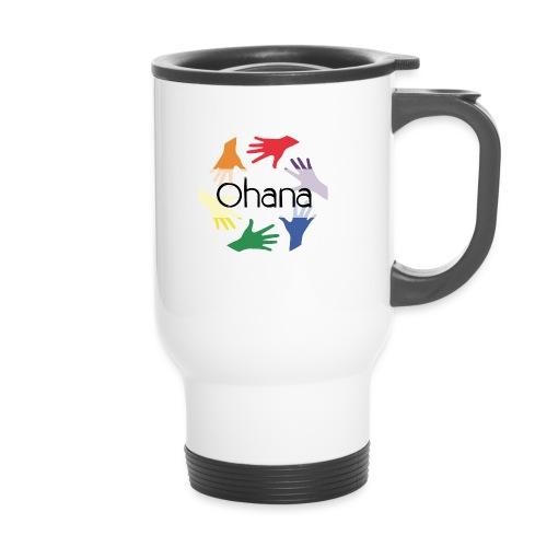 Ohana heißt Familie - Thermobecher mit Tragegriff