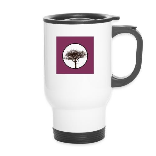 Baum in Kreis - Thermobecher