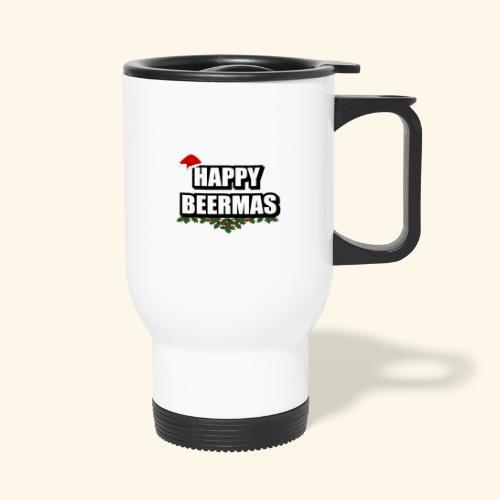 HAPPY BEERMAS AYHT - Travel Mug