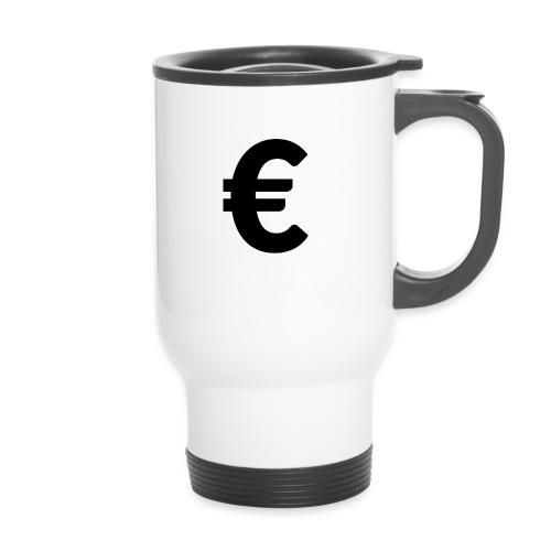 EuroBlack - Tasse isotherme avec poignée