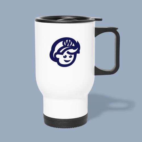 logo bb spreadshirt bb kopfonly - Travel Mug