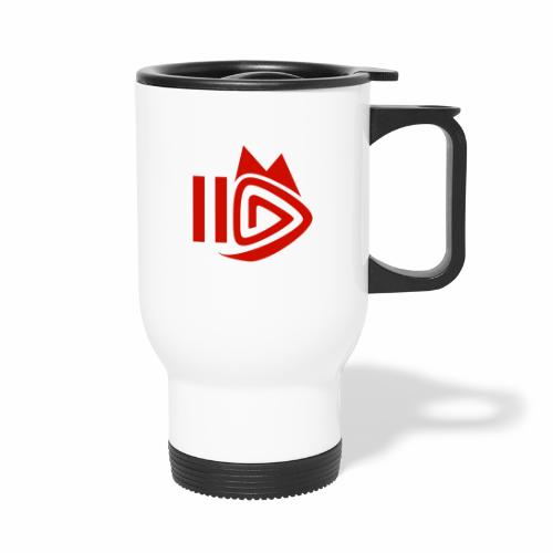 HitFuchs.FM logo - Thermal mug with handle