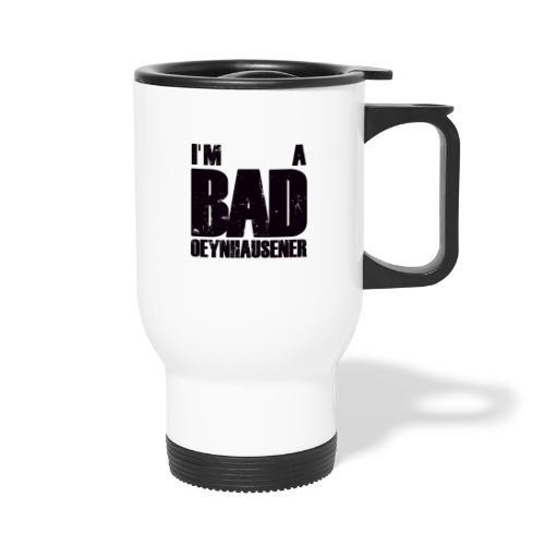 BAD, ganz und gar BAD - Thermobecher mit Tragegriff