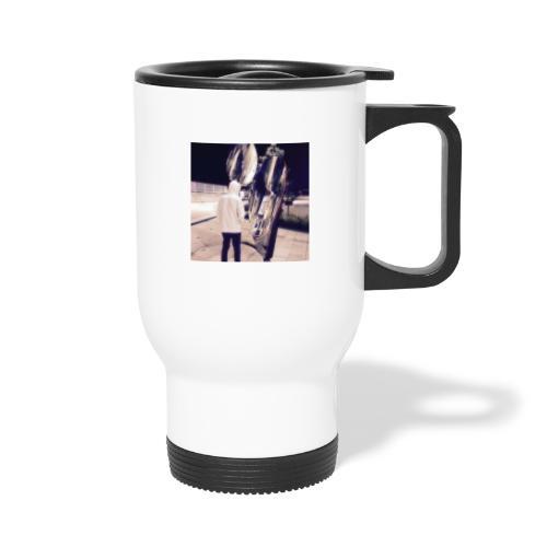 Human Souls style - Thermal mug with handle