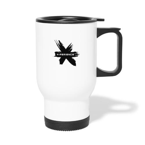 x-perience - Das neue Logo - Thermobecher mit Tragegriff