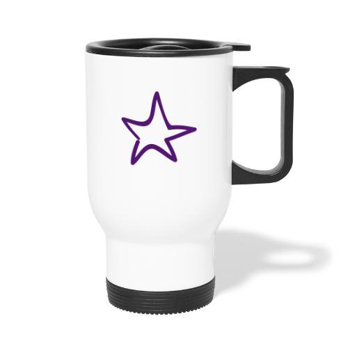 Star Outline Pixellamb - Thermobecher