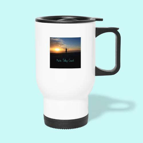 Make Today Count - Thermal mug with handle