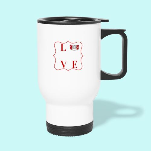 love - Thermal mug with handle