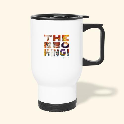 THE BBQ KING T SHIRTS TEKST - Thermo mok