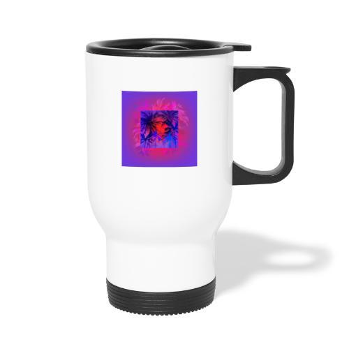 Tropical Summer Nights - Thermal mug with handle