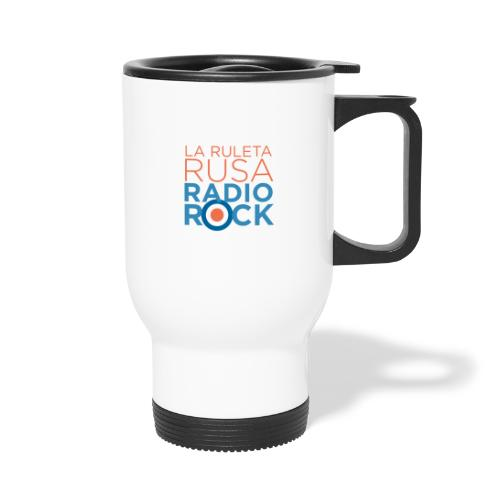 La Ruleta Rusa Radio Rock. Portrait Primary. - Taza termo
