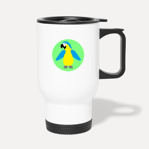 Yellow-breasted Macaw - Thermal mug with handle