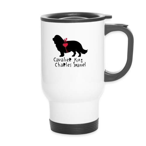 Cavalier Silhouette - Thermobecher