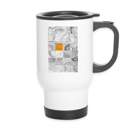 Cubes de Bois - Mug thermos