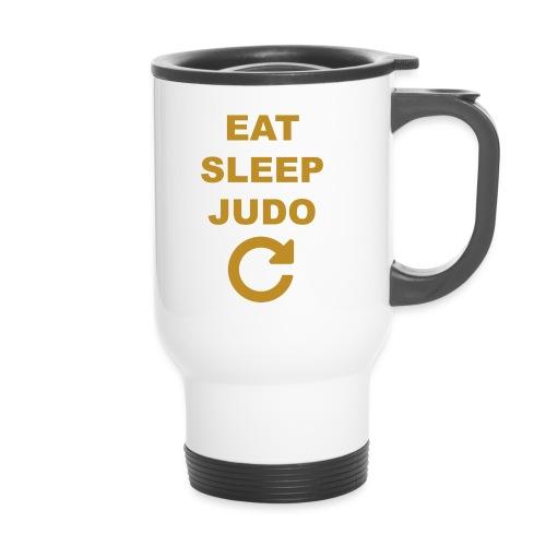 Eat sleep Judo repeat - Kubek termiczny z uchwytem