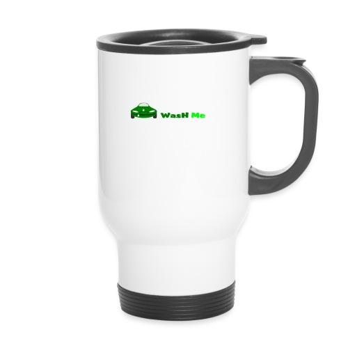 wash me - Thermal mug with handle