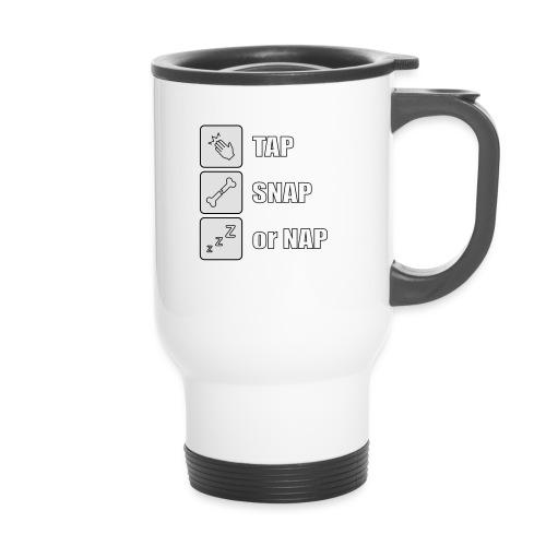 tap snap or nap - Kubek termiczny z uchwytem
