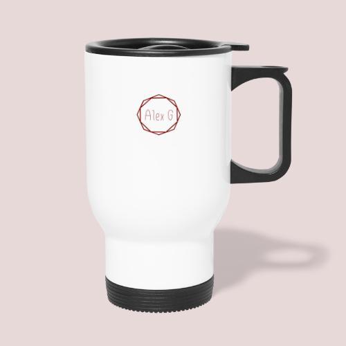 Red Logo - Thermal mug with handle