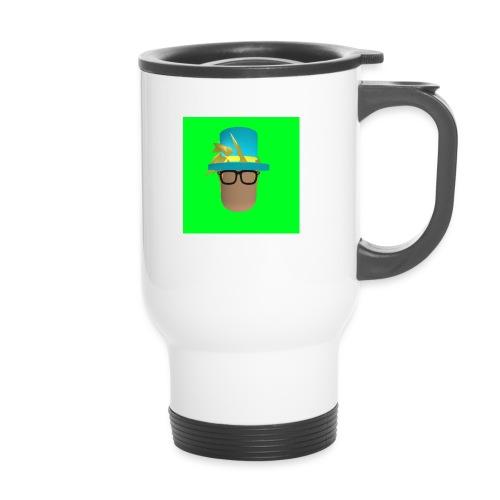 MrWhatWhat Logo Merch - Travel Mug