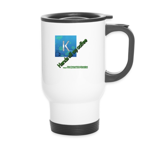 hands off my coffee - Travel Mug