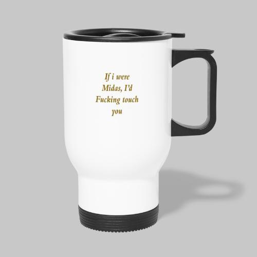 I hate you, basically. - Thermal mug with handle