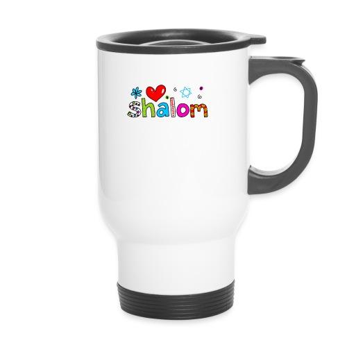 Shalom II - Thermobecher mit Tragegriff