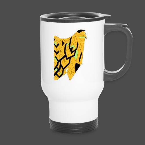 Owl Colour Redraw - Travel Mug