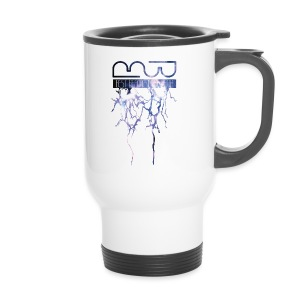 Men's shirt Lightning - Travel Mug