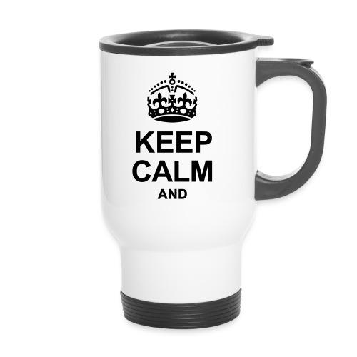 KEEP CALM - Thermal mug with handle