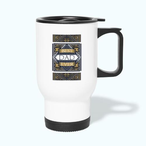 Best Dad Ever Retro Vintage Limited Edition - Travel Mug