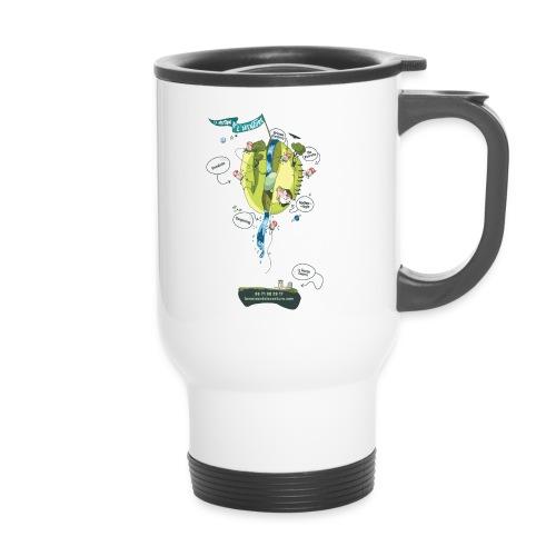 T-shirt Maison de L'aventure - Mug thermos