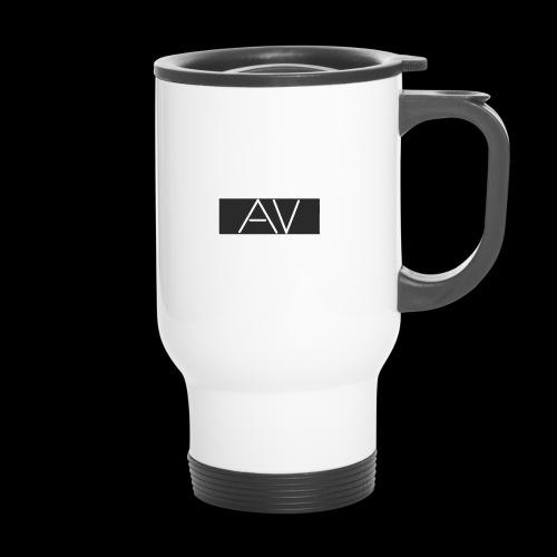 AV White - Travel Mug
