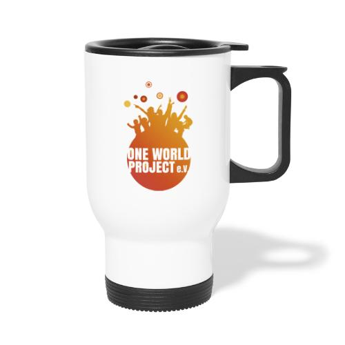 One World Project e. V. - Logo - Thermobecher