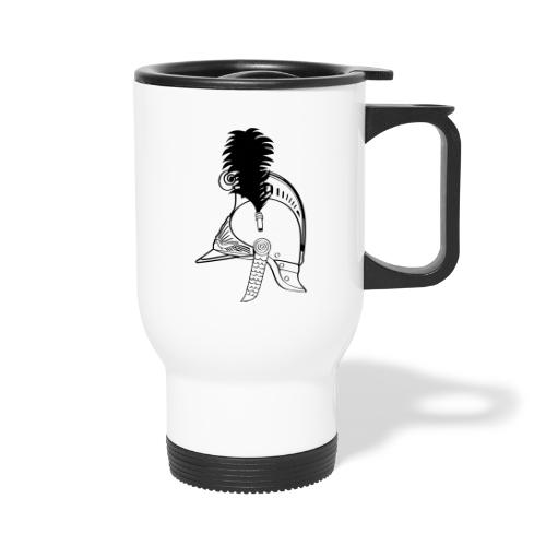 vieux_casque_1c - Mug thermos