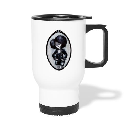 Trad Goth Art by E. R. Whittingham - Thermal mug with handle