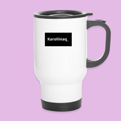Karoliinaq_ - Kahvallinen termosmuki