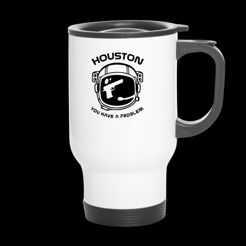 God bless America but... - Thermal mug with handle