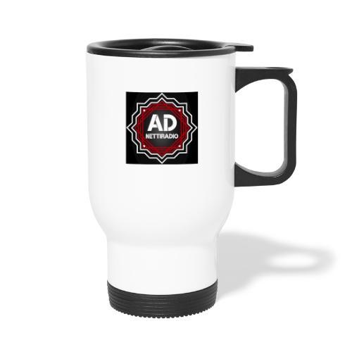 AD-Nettiradio - Kahvallinen termosmuki