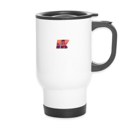Ishaan Kulkarni Logo (1) - Travel Mug
