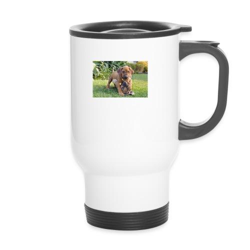 adorable puppies - Travel Mug