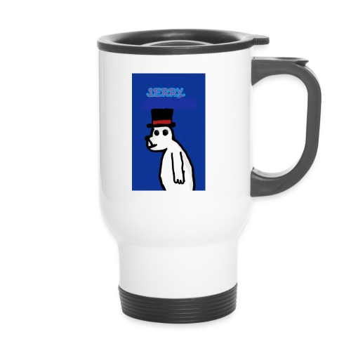 Jerry with tophat - Thermal mug with handle