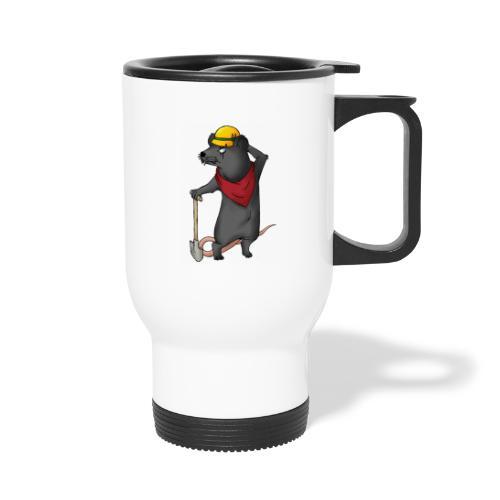 Arbeiter Ratte - Thermobecher mit Tragegriff