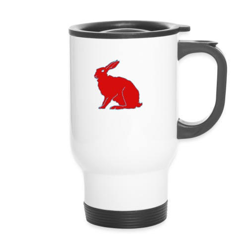 Roter Hase - Thermobecher
